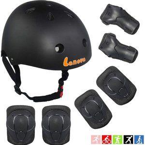 Lanova Accessories - BIKE HELMET AND PAD SET - KIDS - Roller Skateboard